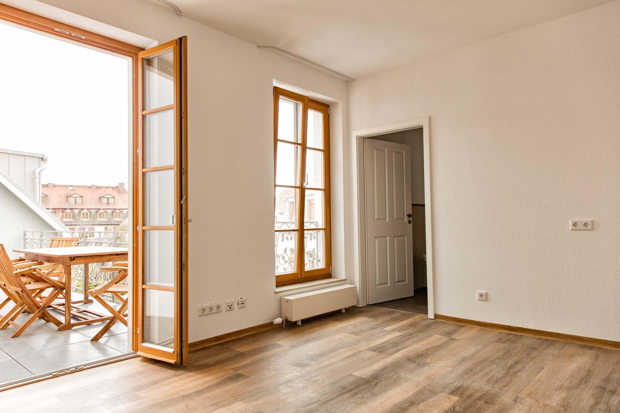 unsere wohnungen betreutes wohnen im jakobsviertel weimar. Black Bedroom Furniture Sets. Home Design Ideas
